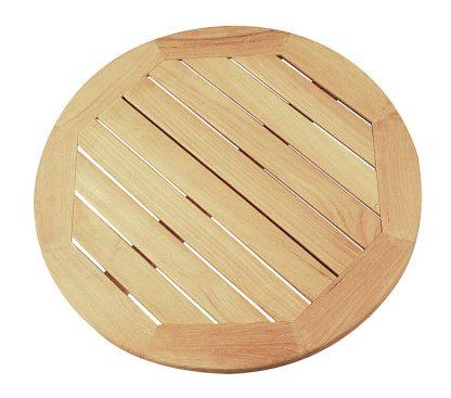 Tischplatte Teakholz