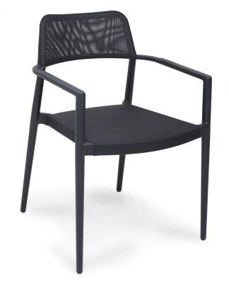 Outdoor Sessel Salento Tex schwarz